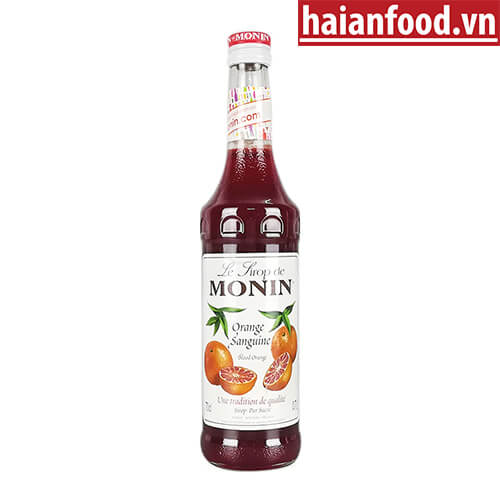 Syrup Cam Đỏ Monin
