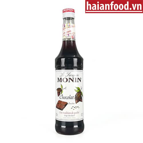 Syrup Chocolate Monin Chai 700ml