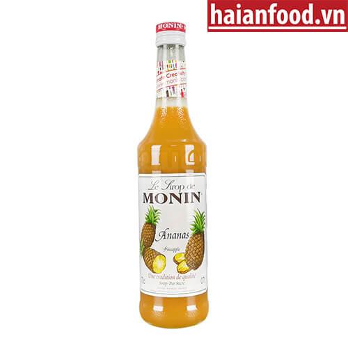 Syrup Dứa Monin