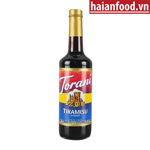 Syrup Tiramisu Torani