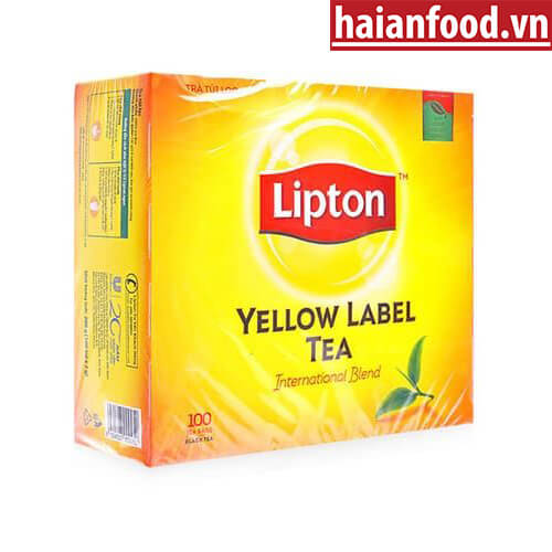Trà Lipton Nhãn Vàng