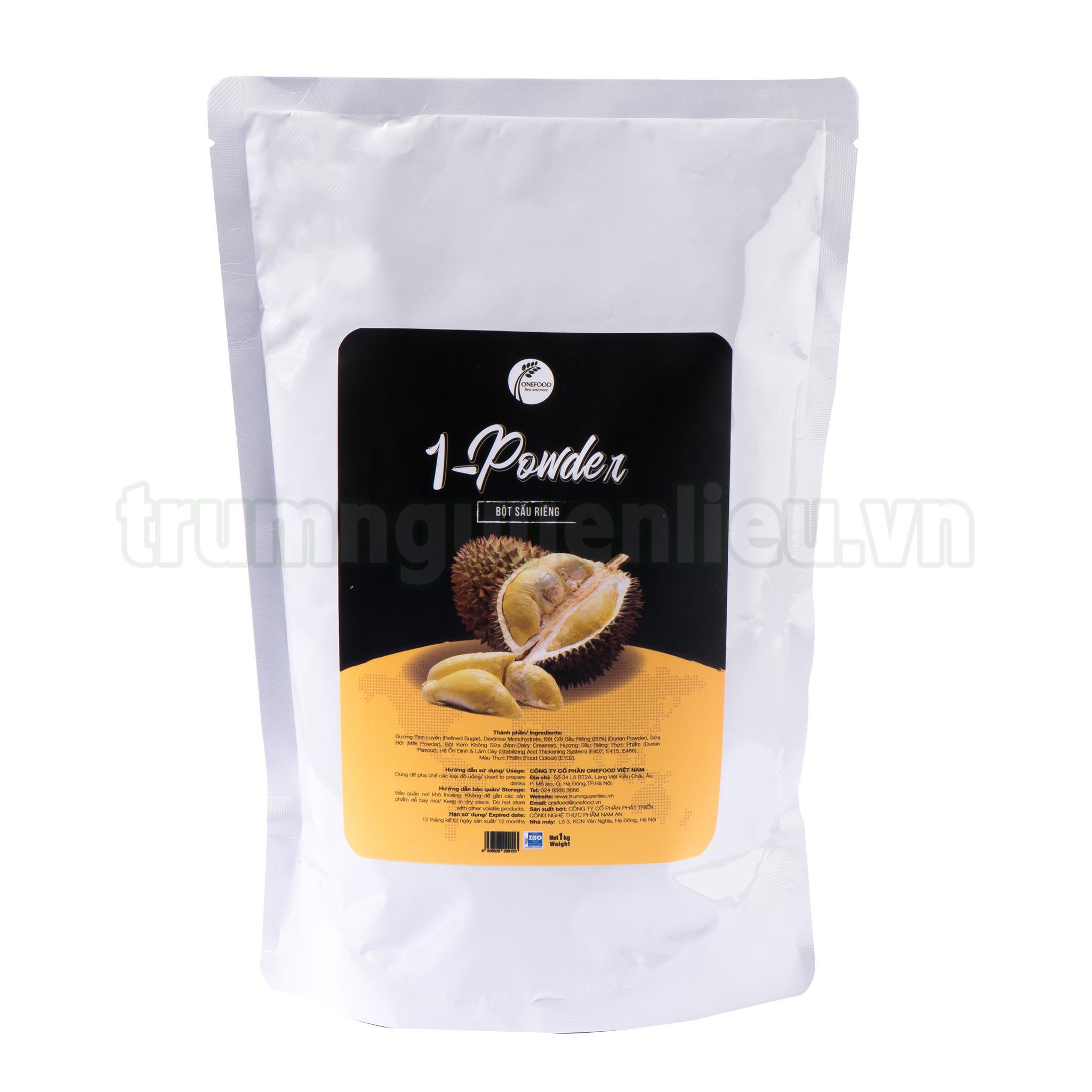 bột sầu riêng