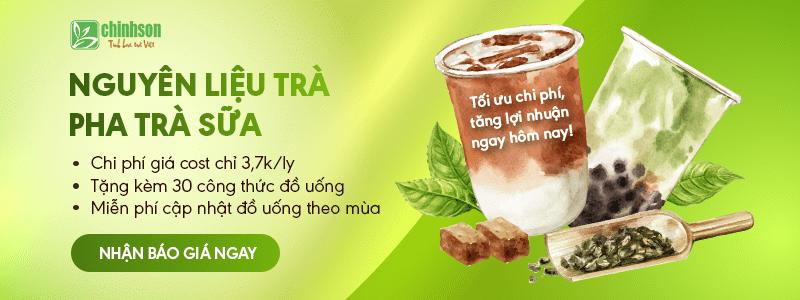 nguyên liệu làm trà sữa