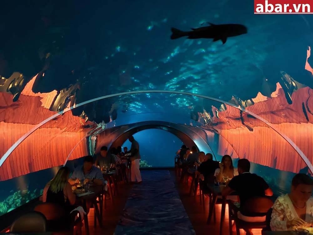 Nhà hàng dưới biển đầu tiên trên thế giới