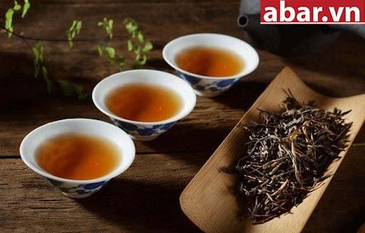trà đen pha trà sữa
