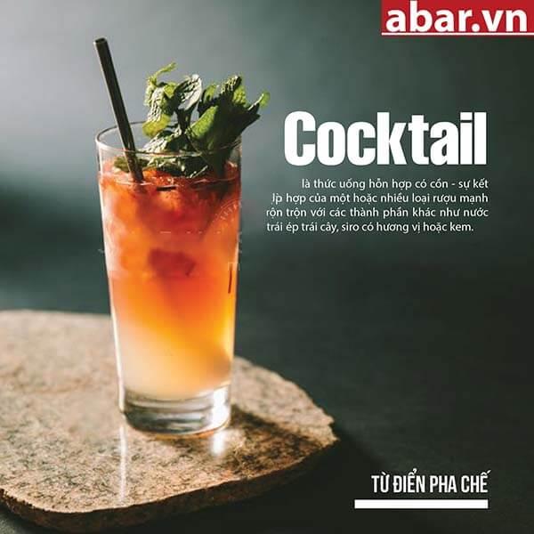 pha chế cocktail từ Vodka