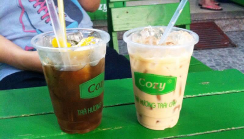 Cách pha trà sữa bằng trà túi lọc Cozy