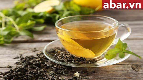 cách pha trà xanh mật ong