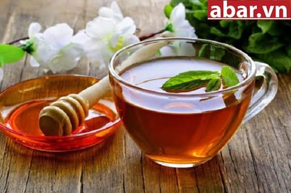công dụng trà xanh mật ong