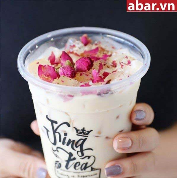 trà sữa hoa hồng 2