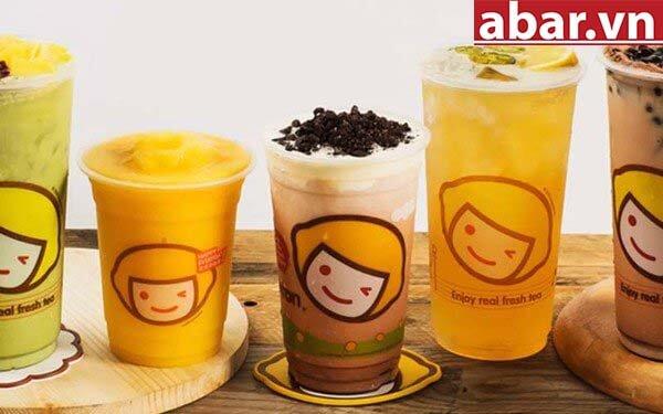 trà sữa hàn quốc happy lemon