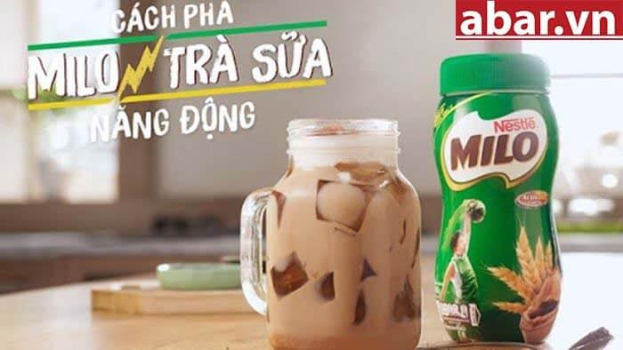 trà sữa milo